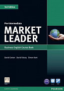 Market Leader (3rd Edition) Pre-Intermediate Course Book and DVD-ROM