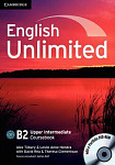 English Unlimited B2 Upper-Intermediate Coursebook with e-Portfolio DVD-ROM