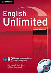 English Unlimited B2 Upper-Intermediate Self-study Pack (Workbook with DVD-ROM)