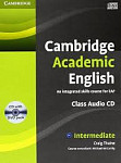 Cambridge Academic English B1+ Intermediate Class Audio CD & DVD