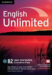 English Unlimited B2 Upper-Intermediate Coursebook with e-Portfolio DVD-ROM and Online Workbook Pack