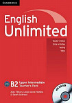 English Unlimited B2 Upper-Intermediate Teacher's Pack with DVD-ROM